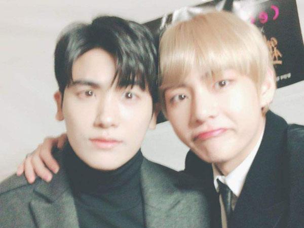 Dekatnya Persahabatan Park Hyungsik dan V BTS, Kedua Orangtua Juga Berteman Sampai Liburan Bareng