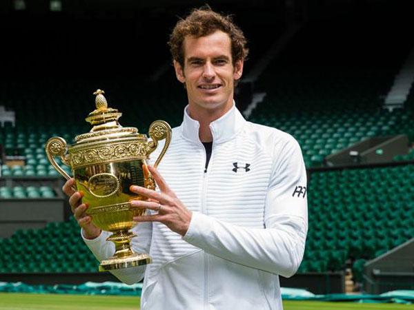 Petenis Dunia Andy Murray Tutup Tahun dengan Terima Gelar Kehormatan Ratu Inggris
