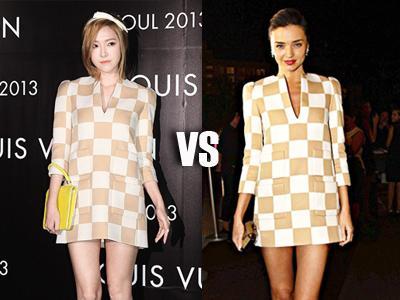 Dress Jessica 'SNSD' & Miranda Kerr, Siapa Lebih Modis?