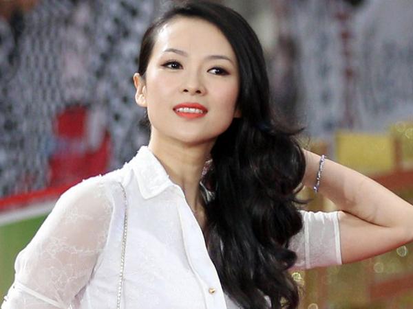 Aktris China Sekaligus Produser Film Lay EXO Zhang Ziyi Lahirkan Bayi Perempuan