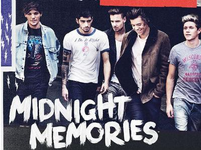 Ini Pose Tampan One Direction di Sampul Album 'Midnight Memories'!