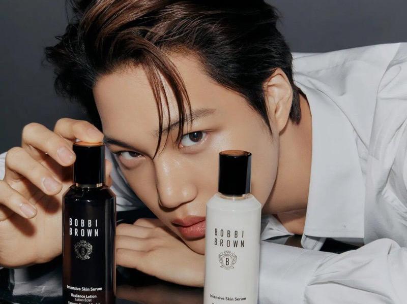 Kai EXO Jadi Model Asia Pacific Pertama Bobbi Brown Cosmetics