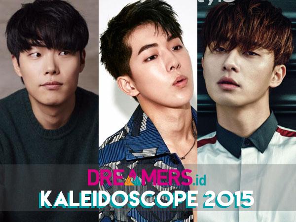 Fisik Menarik dan Akting Ciamik, Ini Sederet Bintang Korea yang Naik Daun di 2015!