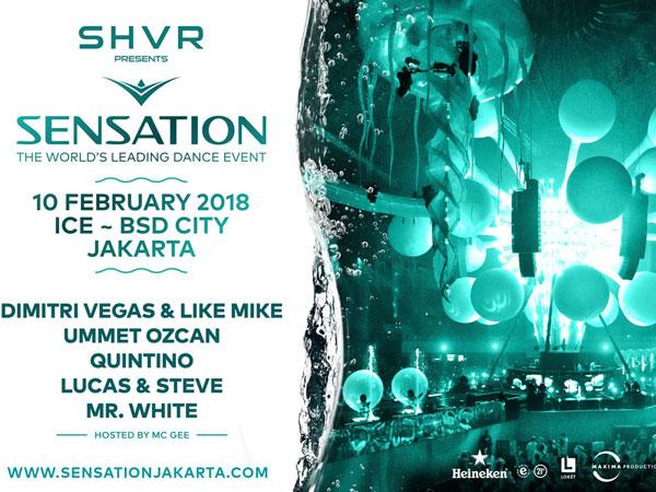 Siap 'Putihkan' Area Pecinta Musik EDM di Sensation Jakarta 2018!