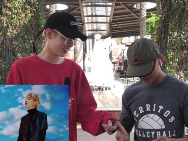 Kocaknya Cara Jae dan Reaksi Orang-orang Saat Ditanya Tentang DAY6