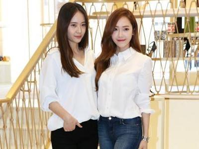 Serunya Kegiatan Jessica SNSD dan Krystal f(x) Saat Berada di Los Angeles