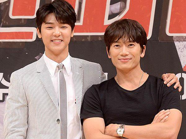 Ji Sung dan Minhyuk CNBLUE Tunjukan Bromancenya di Belakang Layar Drama 'Ddanddara'