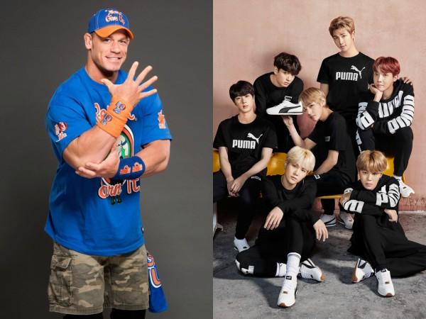 Tambah Lagi Selebriti Hollywood Yang Mengaku Sebagai BTS ARMY: John Cena!
