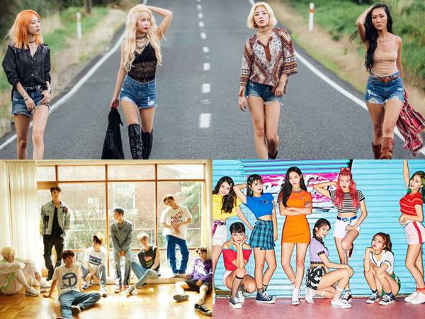 Deretan MV K-Pop Paling Banyak Ditonton di Paruh Pertama Tahun 2018 (Part 1)