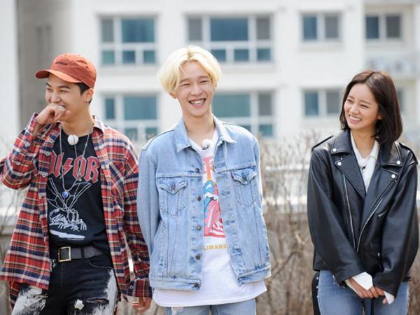 Hyeri Girl's Day, Mino, dan Taehyun WINNER Terlihat Sedang Syuting 'Running Man'!
