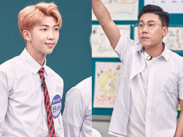 Rap Monster BTS Pamerkan Aksi Rap Lawan Lee Sang Min di 'Knowing Brother'