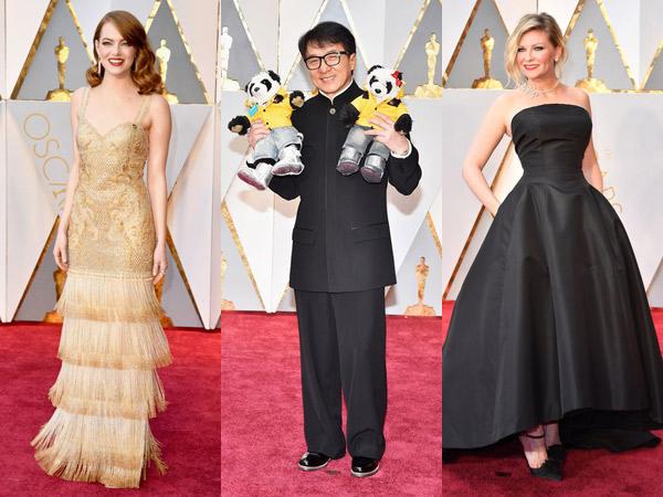 Mewah Hingga Penuh Makna, Para Selebriti Ini Gunakan Aksesoris Unik di Oscar 2017