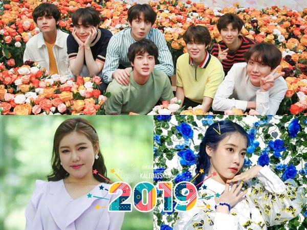Inilah Artis, Lagu, dan Idola Favorit Pilihan Orang Korea di Tahun 2019