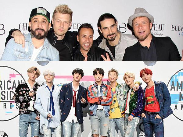 Backstreet Boys Ngaku Ngefans Berat ke BTS, Bakal Kolaborasi?