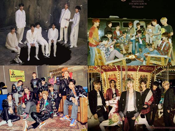 Rookie Hingga Senior, Inilah Daftar Album Boy Group K-Pop Terlaris 2020 Sejauh Ini