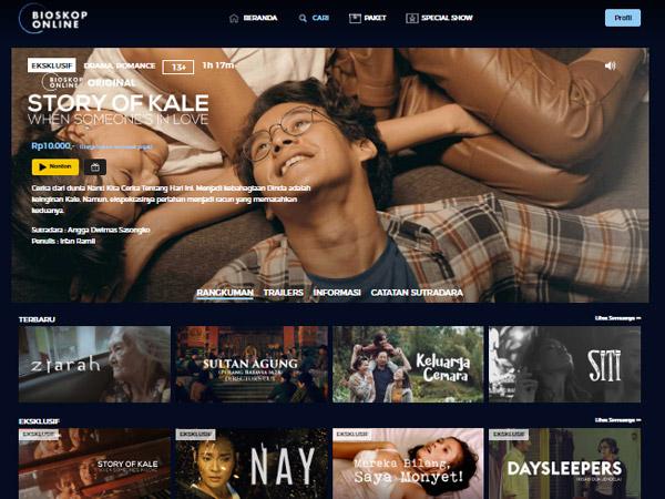 Fakta Bioskop Online, Platform Streaming Baru Harga Murah Tanpa Langganan