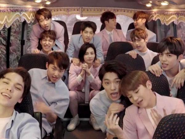 Tulis Surat Cinta Untuk Fans, Seventeen Kembali Pamer Keceriaan di Video Musik  'Love Letter'