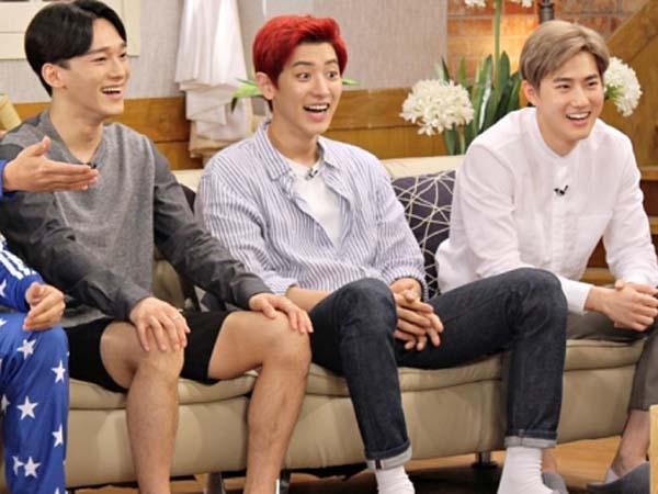 Ini Jawaban Jujur Chanyeol, Suho, Chen EXO Ketika Disinggung Tentang Ciuman Pertama