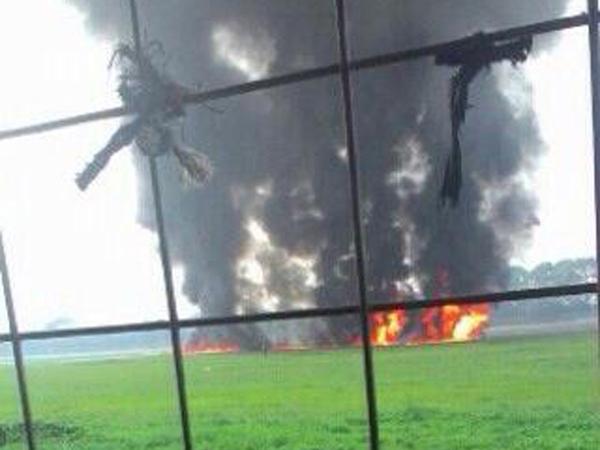 Berangkat Kawal Jokowi, Pesawat F-16 Terbakar Di Halim Perdanakusuma