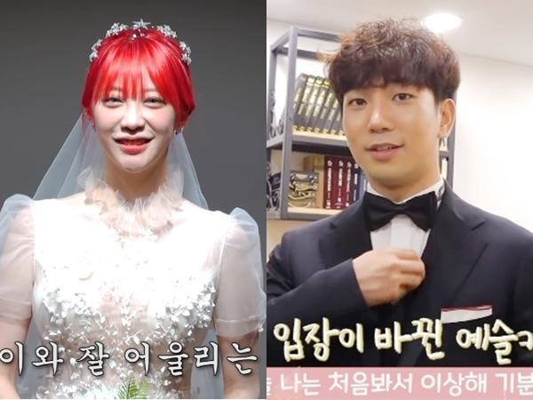 Segera Menikah, G.O MBLAQ dan Choi Ye Seul Bagikan Video Fitting Baju Pengantin