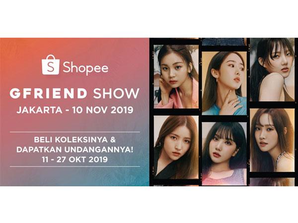 Kembali Berikan Kejutan Spesial untuk K-Popers, Shopee Bawa GFRIEND ke Jakarta!