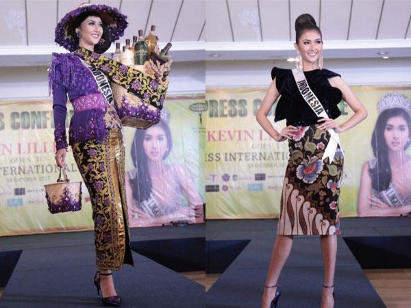 Intip 5 Busana Indonesia yang Akan Ditampilkan Pada Ajang Miss International 2017