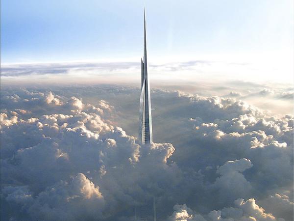 Wow! Arab Saudi Punya Gedung Tertinggi di Dunia Hingga Tembus Awan