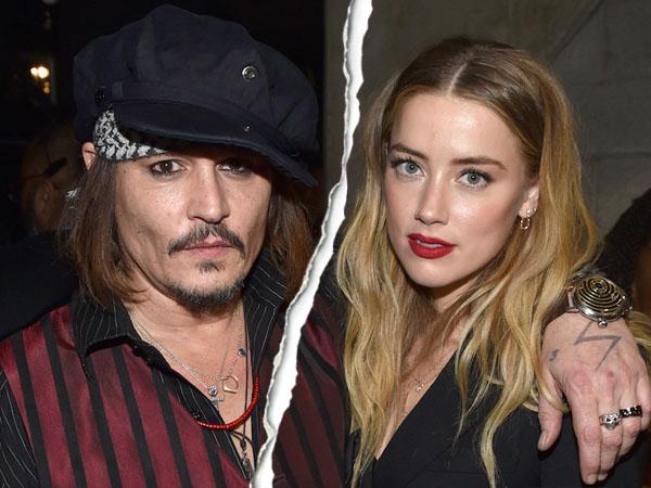 Beda Usia 22 Tahun Jadi Alasan Amber Heard Ceraikan Johnny Depp?