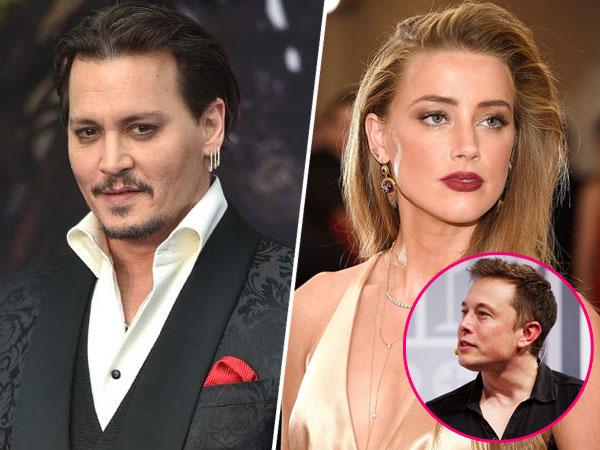 Baru Cerai dari Johnny Depp, Amber Heard Pacari Seorang Miliarder?