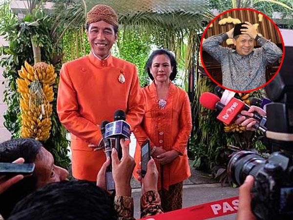 Reaksi Jokowi Saat Fahri Hamzah Kritik Pernikahan Kahiyang Ayu
