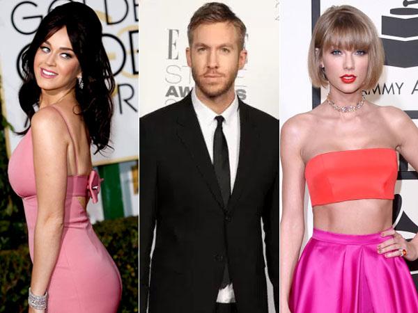 Katy Perry Respon Curhatan Calvin Harris Soal Taylor Swift di Twitter
