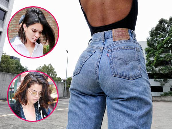 Yuk Pakai 'Mom Jeans' Ala Selena Gomez dan Kendall Jenner