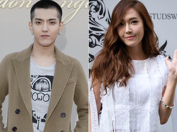 Kris Wu Tunjukan Dukungan Manisnya Untuk Debut Solo Jessica Jung