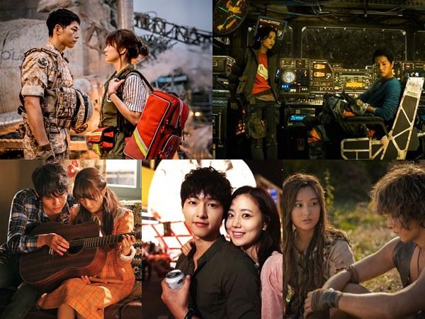 5 Aktris yang Pernah Jadi Lawan Main Song Joong Ki