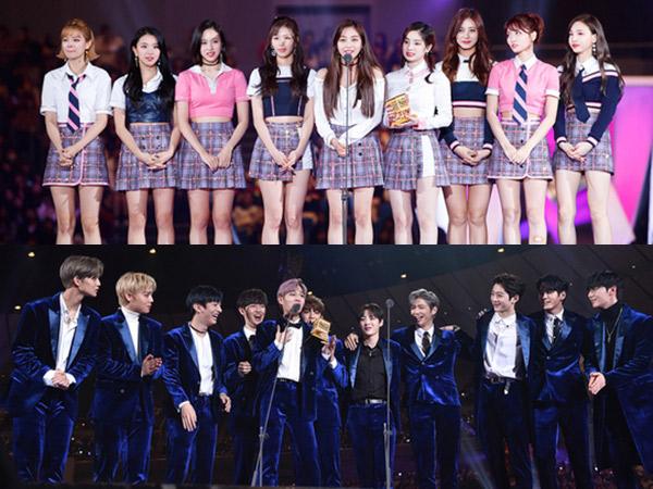 TWICE Hingga Wanna One Menang Kategori Bergengsi 'MAMA 2017' di Jepang, Berikut Daftar Lengkapnya!