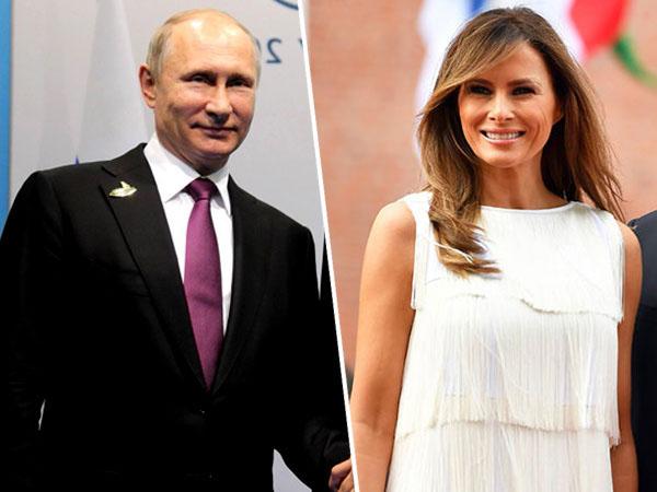 Intip Momen Akrab Penuh Canda Antara Presiden Rusia Putin dengan Melania Trump di KTT G20