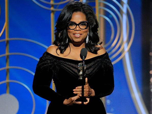 Pidato Inspiratif dari Oprah Winfrey di Golden Globes 2018 Tuai Tepuk Tangan Meriah