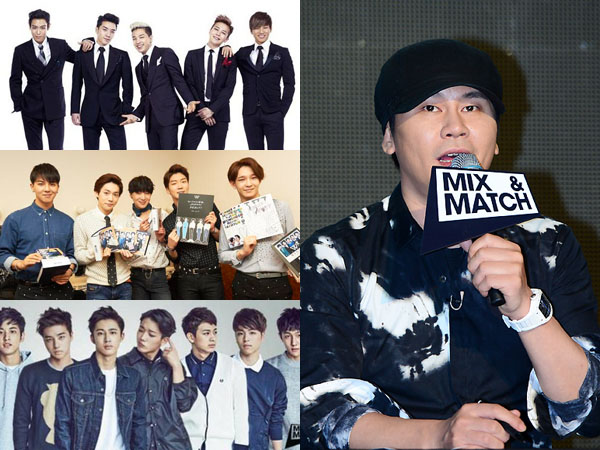 Big Bang vs WINNER vs iKON, Mana yang Paling Jadi Perhatian Yang Hyun Suk Saat Ini?