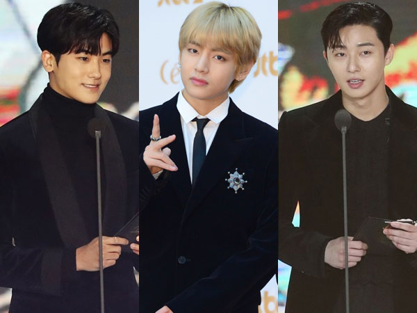 Trio 'Hwarang' Pamer Bromance Lagi di '32nd Golden Disc Awards'