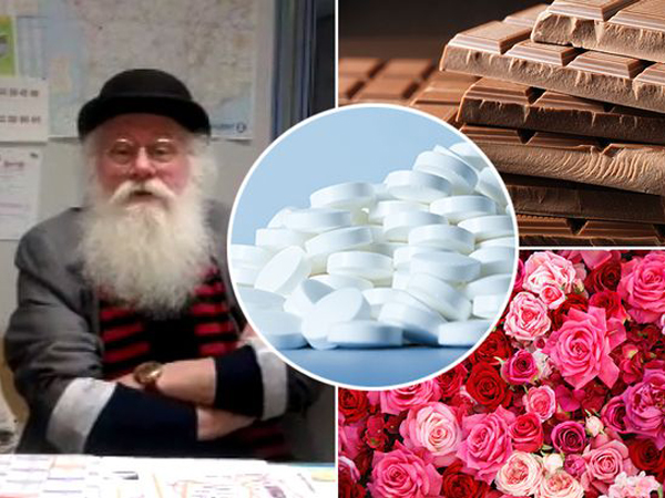 Wow, Kakek Ini Ciptakan Pil yang Bisa Hasilkan Kentut Beraroma Cokelat dan Mawar!