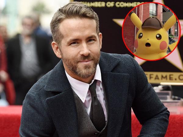 Usai Jadi Superhero 'Deadpool', Ryan Reynolds Akan Perankan Tokoh Pikachu!