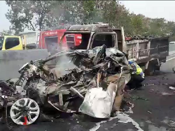 Sampai Ada Contra Flow dan Kendaraan Terbakar, Kabar Terkini Kecelakaan Beruntun Tol Cipularang
