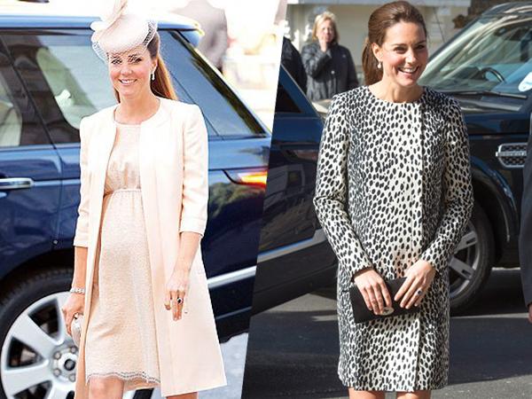 Deretan Gaya Busana Kate Middleton Saat sedang Hamil, Tetap Cantik!