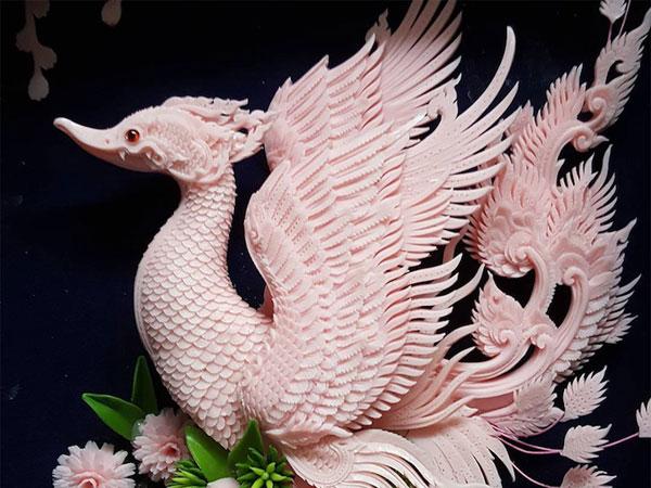 Keren! Karya Seniman Ini Angkat Kembali Budaya Ukiran Tradisional dengan Sabun