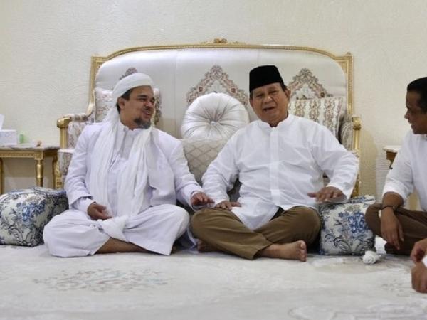 Prabowo Akan Jemput Habib Rizieq, Kapan dan Benar untuk Dongkrak Elektabilitas Pilpres?