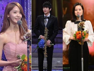 Ini Dia Para Peraih Penghargaan di KBS Drama Awards 2012