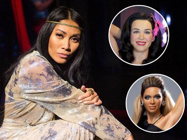 Bareng Katy Perry dan Beyonce Knowles, Patung Lilin Anggun C Sasmi Hadir di Madame Tussauds!