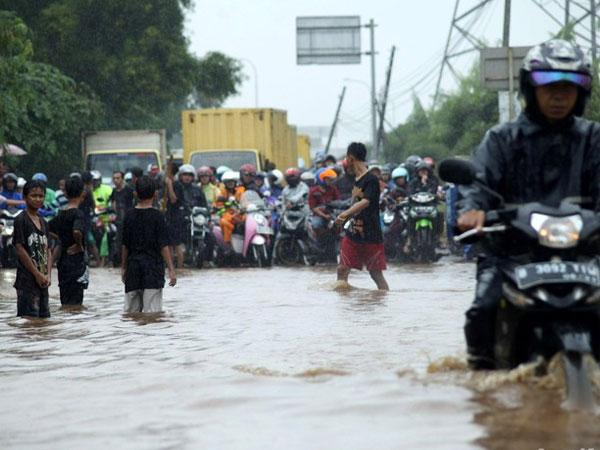 Dilanda Banjir di 54 Titik, Ribuan Rumah di Wilayah Jakarta Terendam Hingga 1,5 Meter