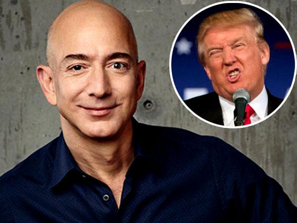 Kesal, Bos Amazon Ingin Kirim Donald Trump ke Luar Angkasa!