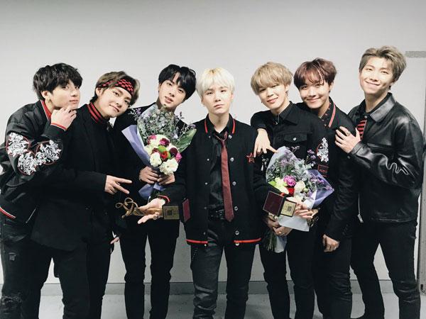 Raih Daesang di '27th Seoul Music Awards', BTS: Hal Kecil yang Membawa Kami Kesini